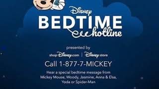 Frozen 2 Disney Bedtime Hotline