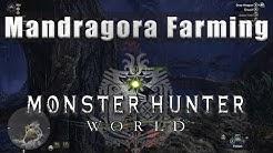 Mandragora farming Monster Hunter World - Mandragora MHW