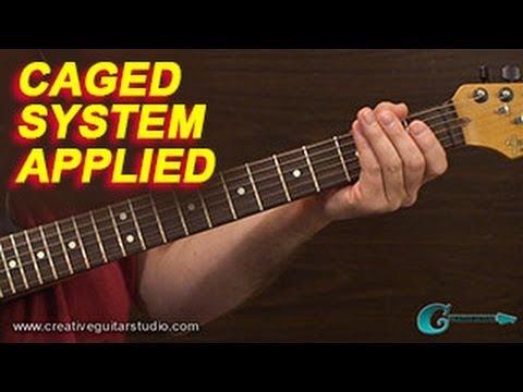 RHYTHM GUITAR: CAGED System Application