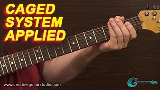 RHYTHM GUITAR: CAGED System Application