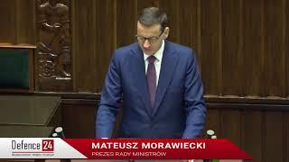 Morawiecki: znaki rozpoznawcze NATO to jedność i solidarność [Defence24 TV]