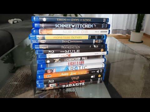 Закуп Фильмов #73: Blu-Ray - Паразиты, Ворон, Наркокурьер, Спаун, Машинист, Хлоя и др. - [4K/60]