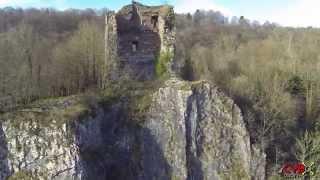 La vallée de l'Amblève entre Remouchamps et Comblain-au-Pont