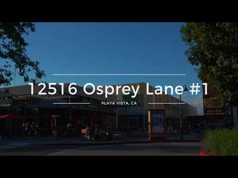 12516 Osprey Lane #1, Playa Vista, CA