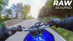 THE PURE SOUND OF YAMAHA MT 09 - ON BOARD | MT 09 AKRAPOVIC SOUND