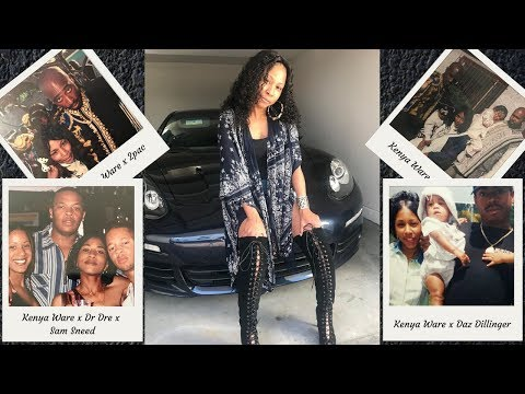 Daz Dillinger Babymama (Kenya Ware) EXPOSE EVERYTHING About Death Row! Talk 2pac, Suge Knight &
