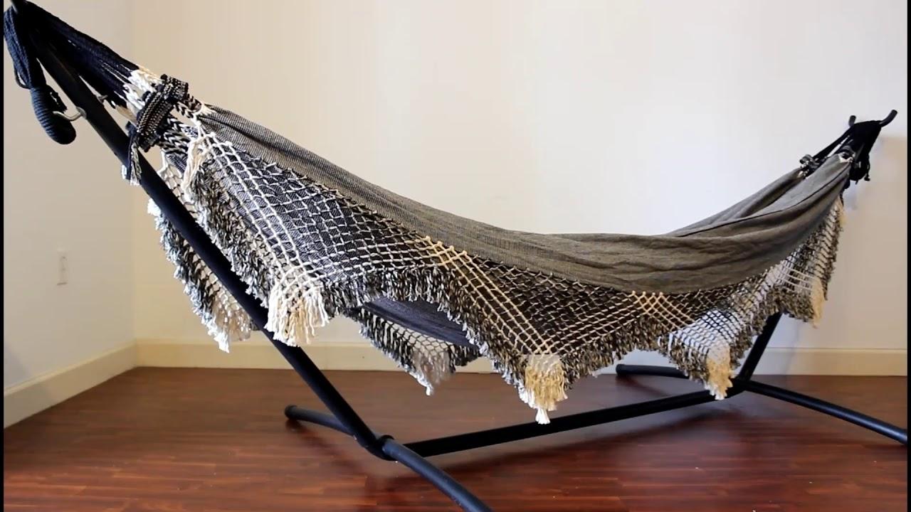 brazilian hammock with fringe by coco bromelia brazilian hammock with fringe by coco bromelia   youtube  rh   youtube