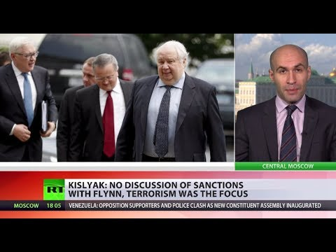 'The simplest things': Ex-Russian Ambassador Kislyak opens up on what he discussed with Flynn