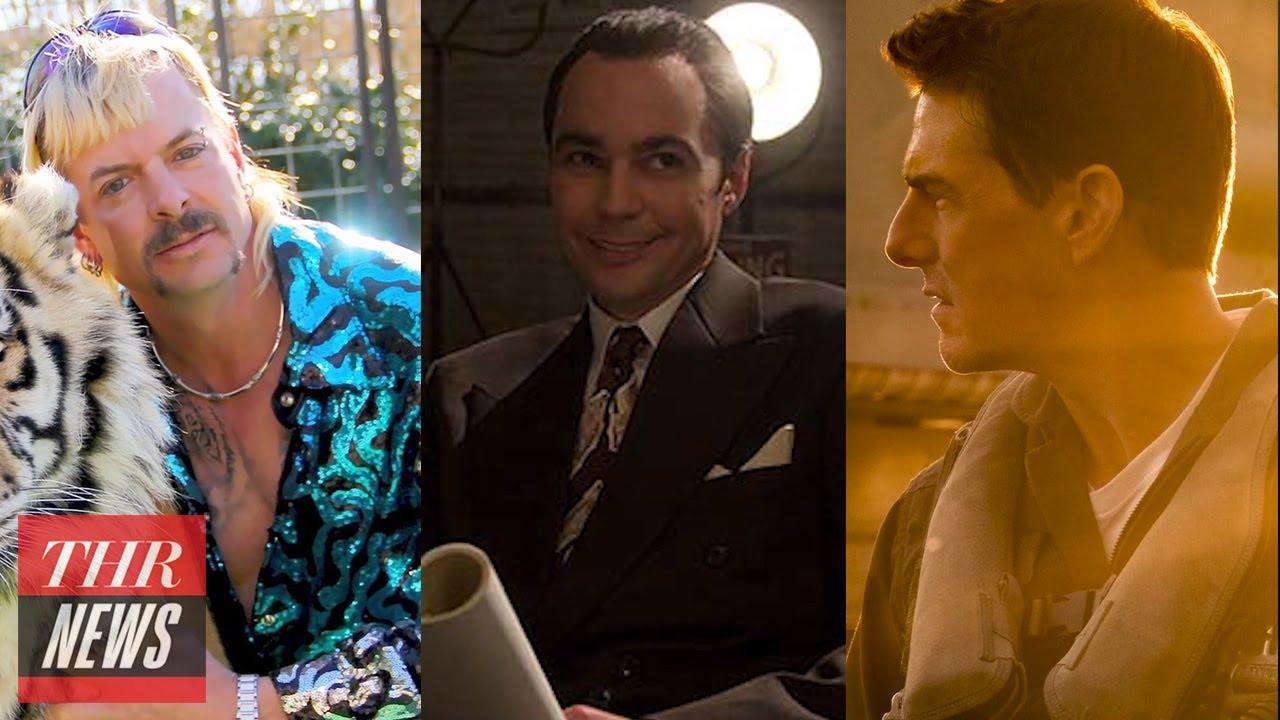 Will David Spade Play Joe Exotic? Plus, A First Look at Ryan Murphy's Show 'Hollywood'   THR News