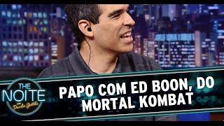 The Noite (17/10/14) - Entrevista com Ed Boon, criador do Mortal Kombat thumbnail