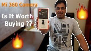 Mi Home Security Camera 360 1080p Detail Unboxing, Setup & Working || MI IP Camera