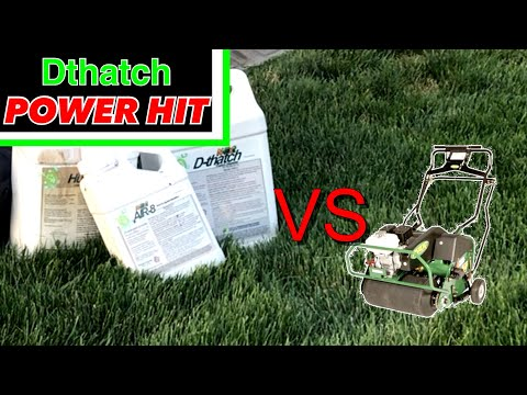 Dthatch Air8 Humic12 Power Hit - Say Goodbye Thatch Layer