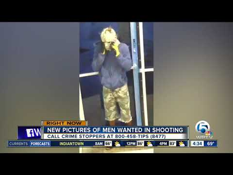 PBSO releases photos of Palms Arcade shooters