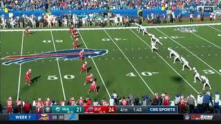 Micah Hyde TD From Onside Kick | Bills vs Dolphins | NFL | Week 7 2019