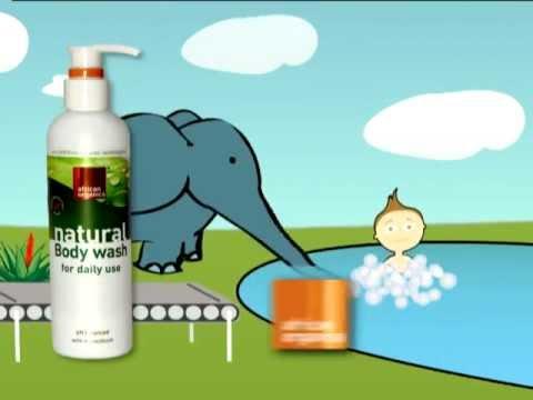 African Organics Advert 2011 - Body wash