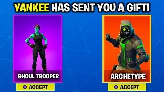 NEW GIFTING SYSTEM RELEASE DATE! - HOW TO GIFT SKINS in FORTNITE [UNLOCKING FREE SKINS in FORTNITE]