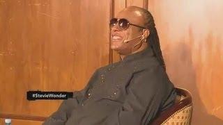 Stevie Wonder improvisó para CQC