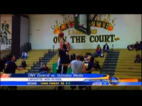 CNY Central squad wins charity basketball game over Cumulus Media