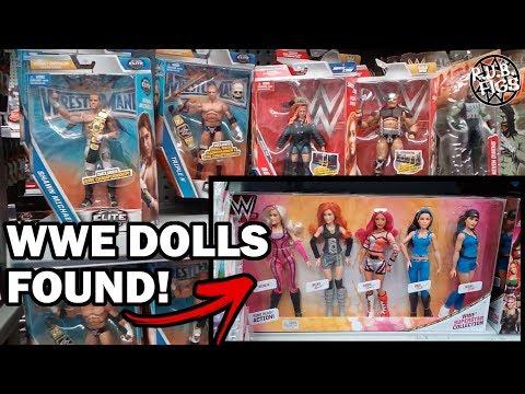 BRAND-NEW WWE ELITES FOUND AT THE WAREHOUSE NZ! DOLLS, TITLE BELTS & MASKS!