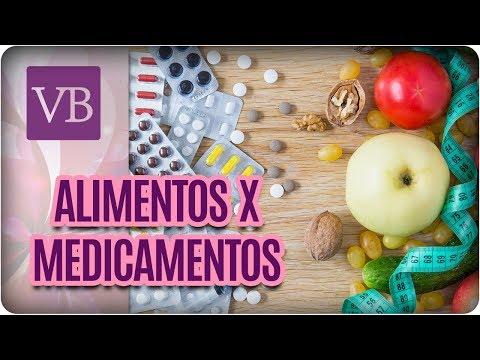 Como os Alimentos Influenciam na Eficácia dos Medicamentos  - Você Bonita (16/08/17)