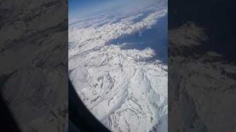 Durant le vol Alger Genève   les Alpes ❤❤
