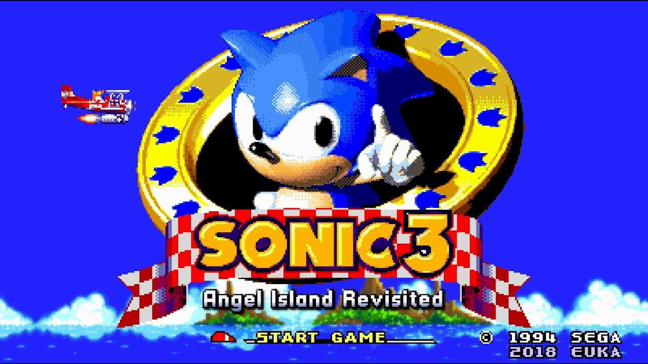 Title Screen Marble Garden Carnival Night Sonic 3 A I R Youtube