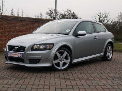 2009 volvo c30 r design 2 0d silver automatic for sale in hampshire youtube. Black Bedroom Furniture Sets. Home Design Ideas