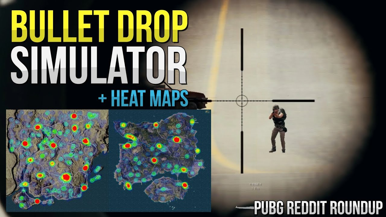 Pubg bullet drop simulator heat maps pubg reddit roundup pubg bullet drop simulator heat maps pubg reddit roundup week 1 gumiabroncs Choice Image