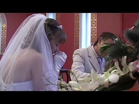 Дворец бракосочетания 1 полностью регистрация Олег и Настя