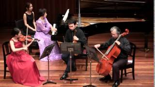タリヘーレ四重奏団演奏会<パリからの風> より 2014年8月23日開催.