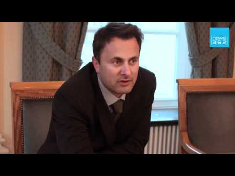 Interview with Xavier bettel, Luxembourg city's Mayor