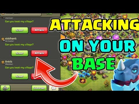 ATTACKING ON YOUR BASE😃 INVITE ME