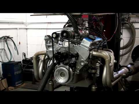 Small Block Chevy w/Weiand Blower Dyno Session at Shafiroff Racing