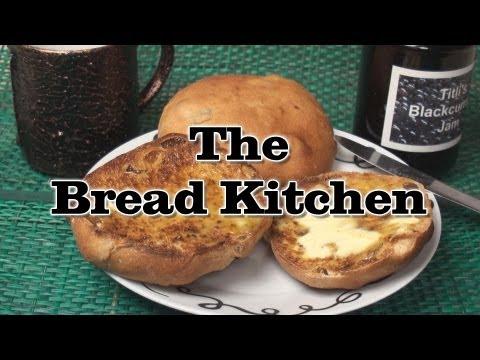English Teacake Recipe in The Bread Kitchen