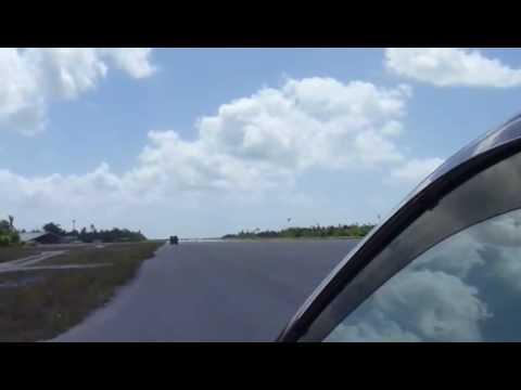 Kiribati: Runway hooliganism at Bonriki airport, Tarawa