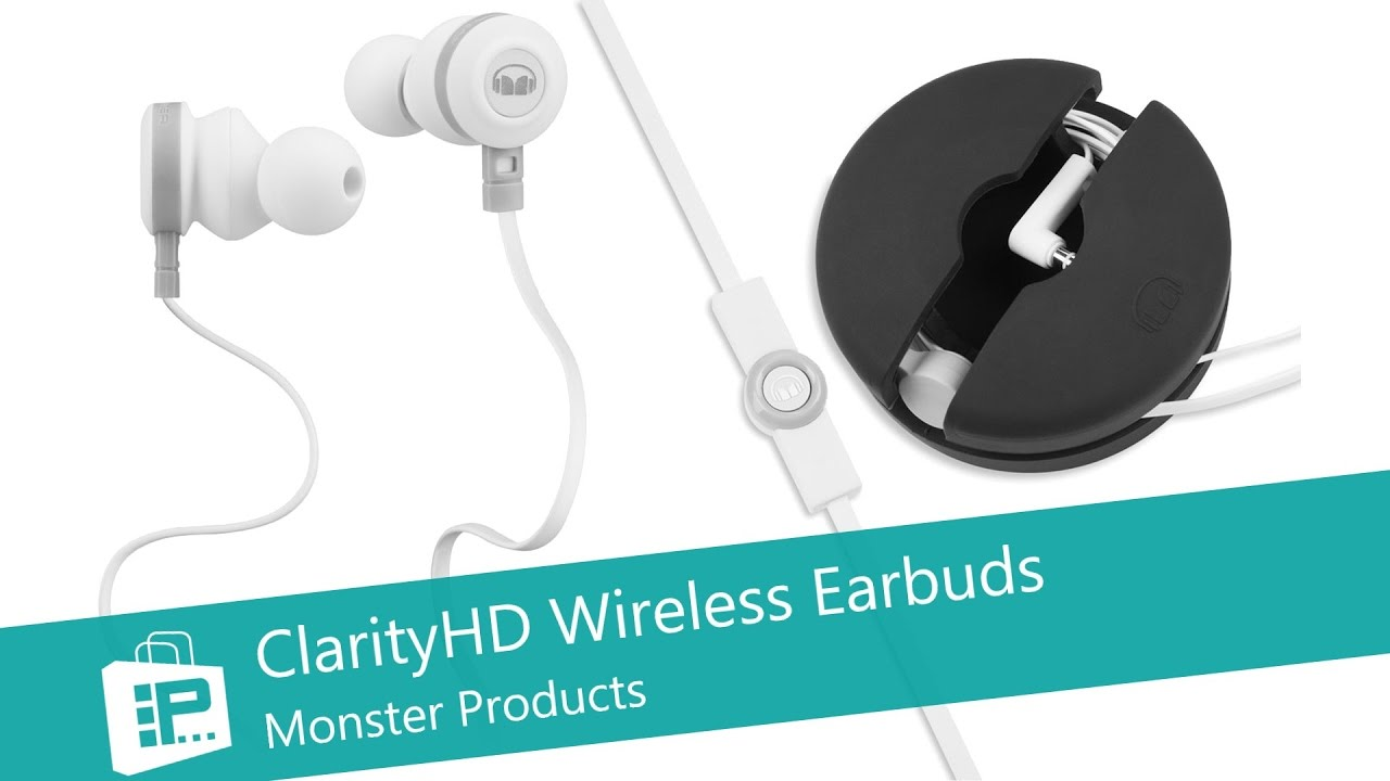 1604f2e4e25 Monster ClarityHD Wireless Earbuds - PLuGHiTz Live Unboxed - YouTube