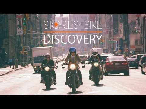 Stories of Bike | Discovery (A Triumph Bonneville in New York Story)