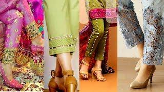 smart & Stylish pants and palazzo Valvet,Heavy work and Part wear Palazzo Beautiful palazzo pants 