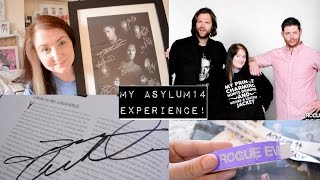 My Asylum 14 Experience! (Supernatural Convention) | The Book Life