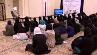 Mulaqat with Lajna Students - Calgary (English)