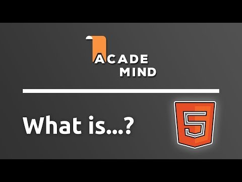 What Is HTML - Academind.com Snippet
