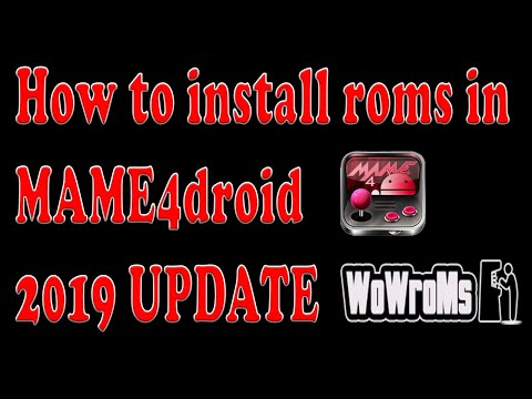 How To Install Roms In MAME4droid [WORKING ROMS!!]