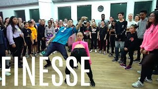 "Nicole Laeno & Matt Steffanina | ""Finesse Remix"" by Bruno Mars and Cardi B"