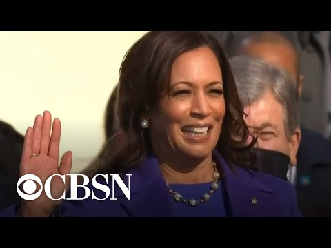 Nation's oldest African American sorority celebrates Harris' new role as vice president