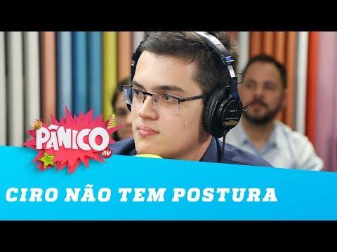 Carmelo Neto: Ciro não tem postura de candidato