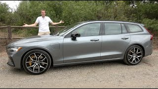 The 2020 Volvo V60 Polestar Is a Cool $70,000 Fast Wagon