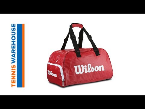 b860bebe98b3 Wilson Red Small Duffel Bag. Tennis Warehouse