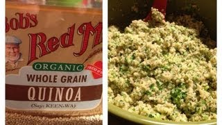 Top 50 Healthiest Foods - Quinoa & Quinoa & Broccoli Pesto