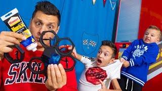 Download Что НАТВОРИЛ Папа! Артур НЕ РАЗРЕШАЕТ  Брать Его ДРОН! Dad broke drone. Children don't let play Mp3 and Videos