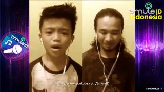 DAHSYAT !!! BAPAK sama ANAK suaranya sama sama MENGGELAGAR, AAN KDI ft.  AFAN – JUDI